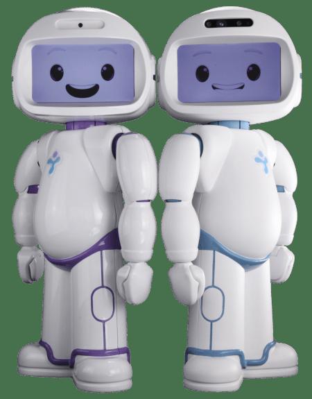 QTrobot pour l'autisme et pour la recherche