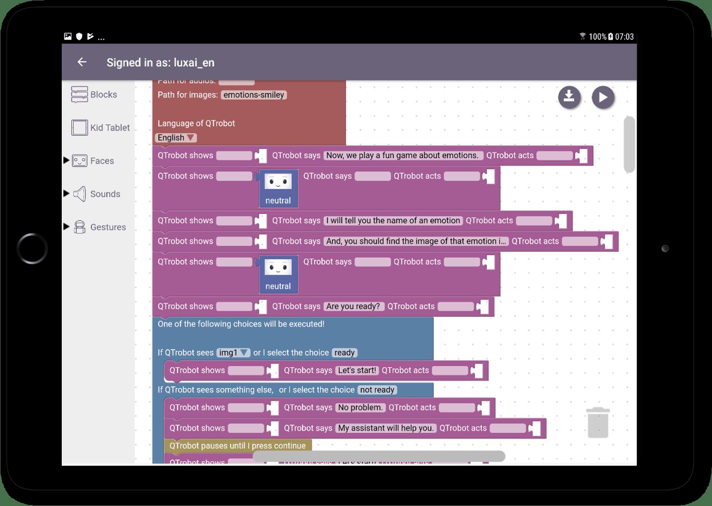 Blockly : environnement de développement graphique pour les utilisateurs non techniques